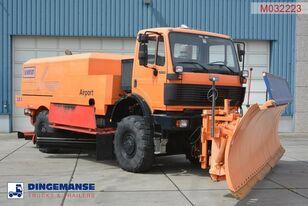 MERCEDES-BENZ SK 2031 4x4x4 Schmidt CJS9 airport sweeper snow plough airport sweeper