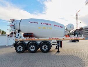 SCHWARZMÜLLER TTC-Fulda Betonmischer Auflieger mit Motor  NEU concrete mixer semi-trailer