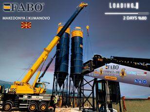 new FABO MIX COMPACT-110 CONCRETE PLANT | CONVEYOR TYPE concrete plant