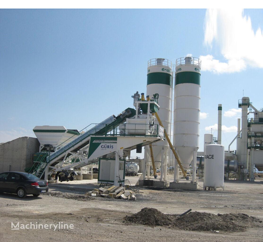 new GURIS GMP 100 CT concrete plant
