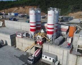 new SEMIX LES CENTRALES À BÉTON FIXES Stationnaire 200 concrete plant