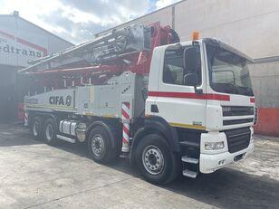 Cifa K  45-5 on chassis DAF CF85.410 CIFA K 45 CARBOTECH concrete pump