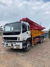 SANY 2011 renovated 37m on ISUZU 6*4 truck concrete pump for parts