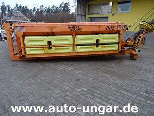 Küpper-Weisser Salzstreuer 6m³ 6,5m³ 3000Liter Sole auf Abrollgestell mounted sand spreader