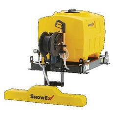 new SnowEx VSS-1000 mounted sand spreader