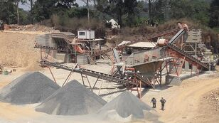new CONSTMACH 250 Ton Capacity Stationary Stone Crushing Plant For Sale crushing plant