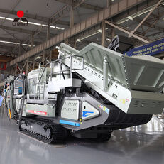 new Liming Mobile crushing machinery crawler type portable stone crusher fr crushing plant