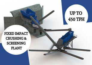 new SERMADEN FIXED IMPACT CRUSHING SCREENING PLANT crushing plant