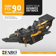 new FABO Fabo FTJ-90 Tracked Jaw Crusher mobile crushing plant