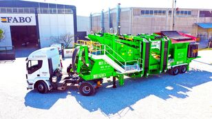 new FABO ME 1645 SERIES MOBILE SAND SCREENING PLANT mobile crushing plant