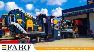 new FABO PRO 90 MOBILE CRUSHING&SCREENING PLANT   90-130 TPH mobile crushing plant