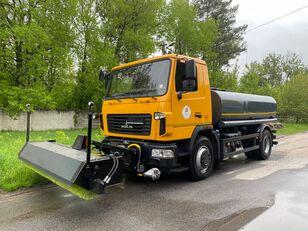 new MAZ water sprinkler truck